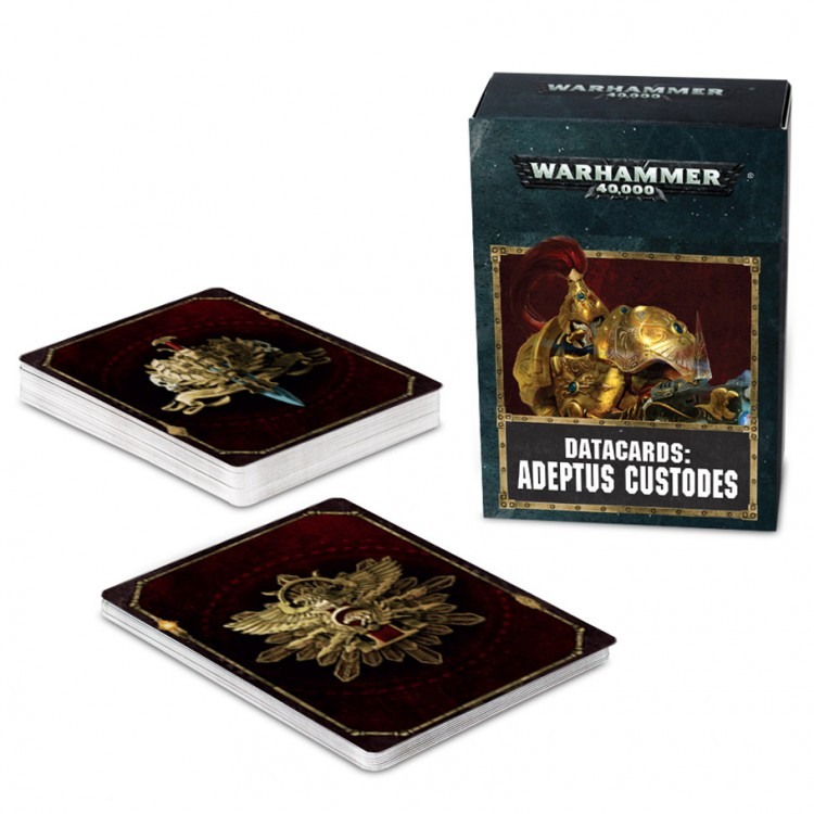 01-15-60 40K: Adeptus Custodes: Cards