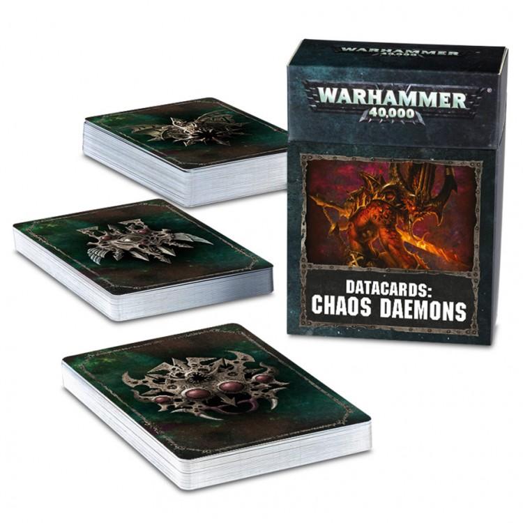 97-04-60 40K: Chaos Daemon: Datacards