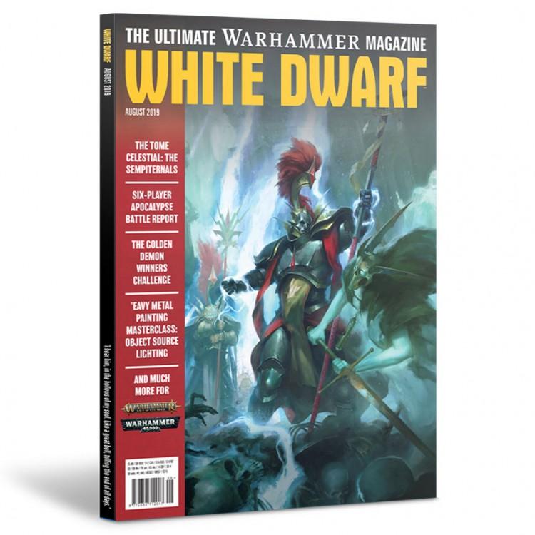 WD08-60 White Dwarf August 2019
