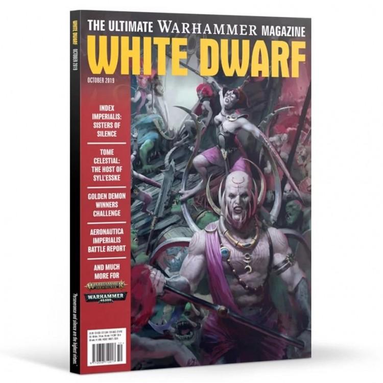 WD10-60 White Dwarf October 2019