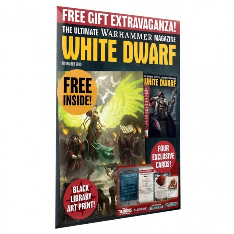 WD11-60 White Dwarf November 2019