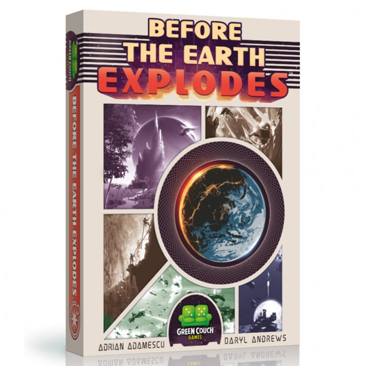 Before the Earth Explodes