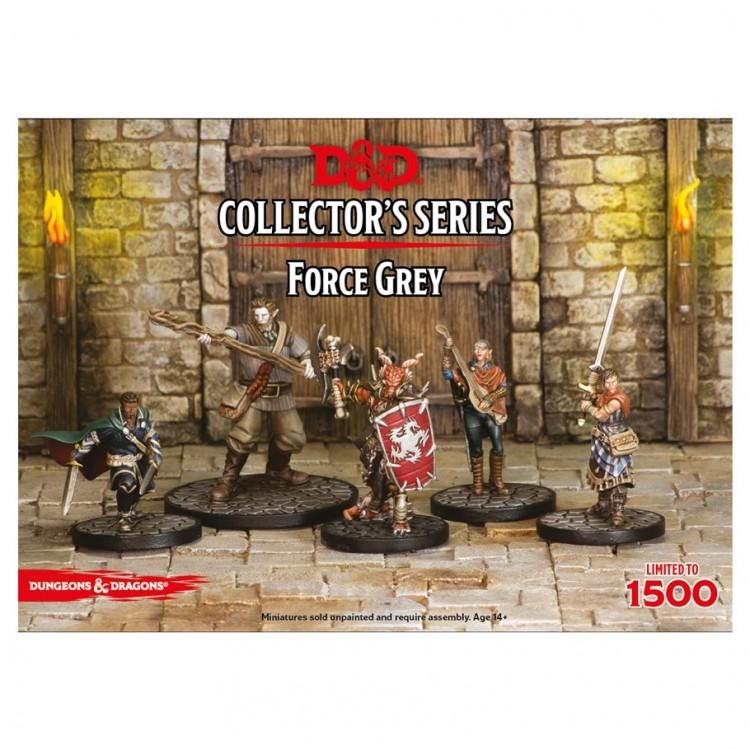 D&D: CS: Force Grey Miniatures