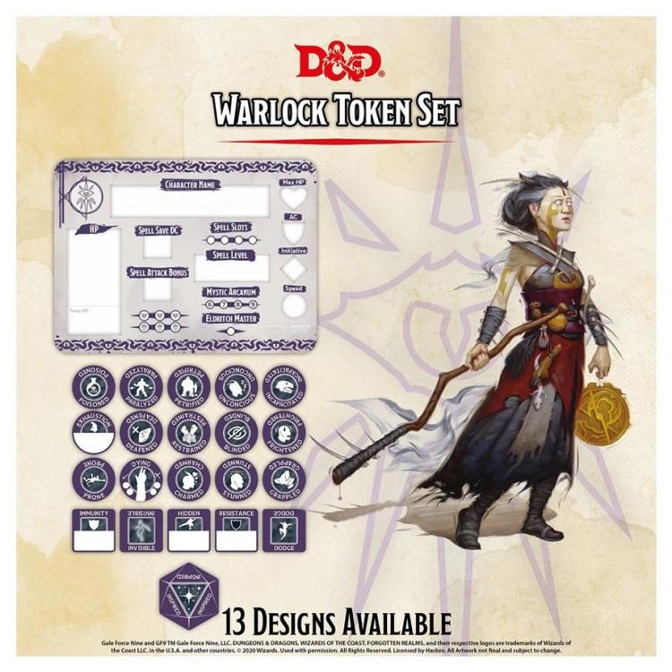 D&D: Character Tokens: Warlock