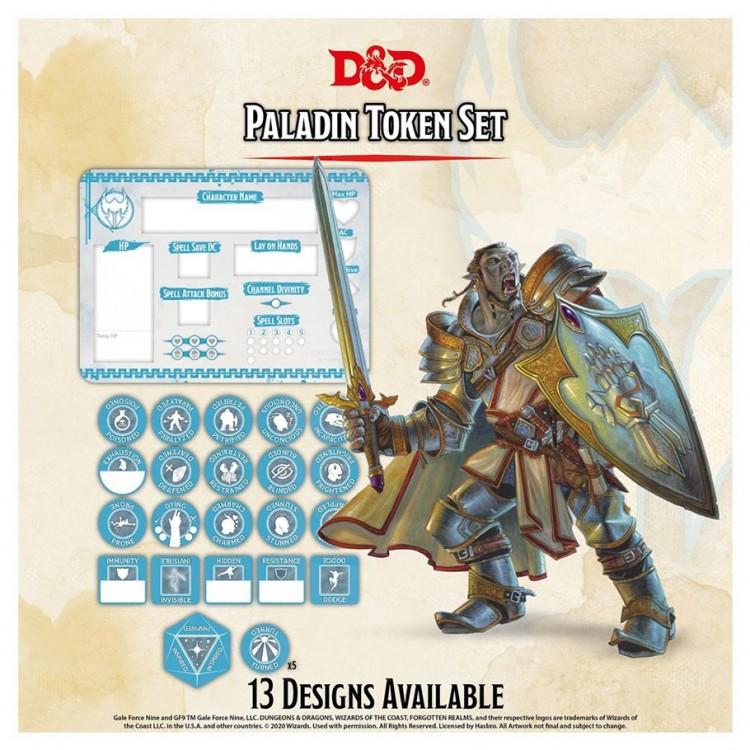 D&D: Character Tokens: Paladin