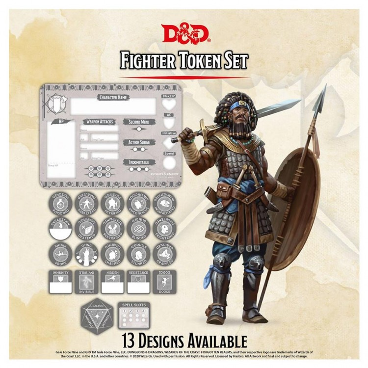 D&D: Character Tokens: Fighter