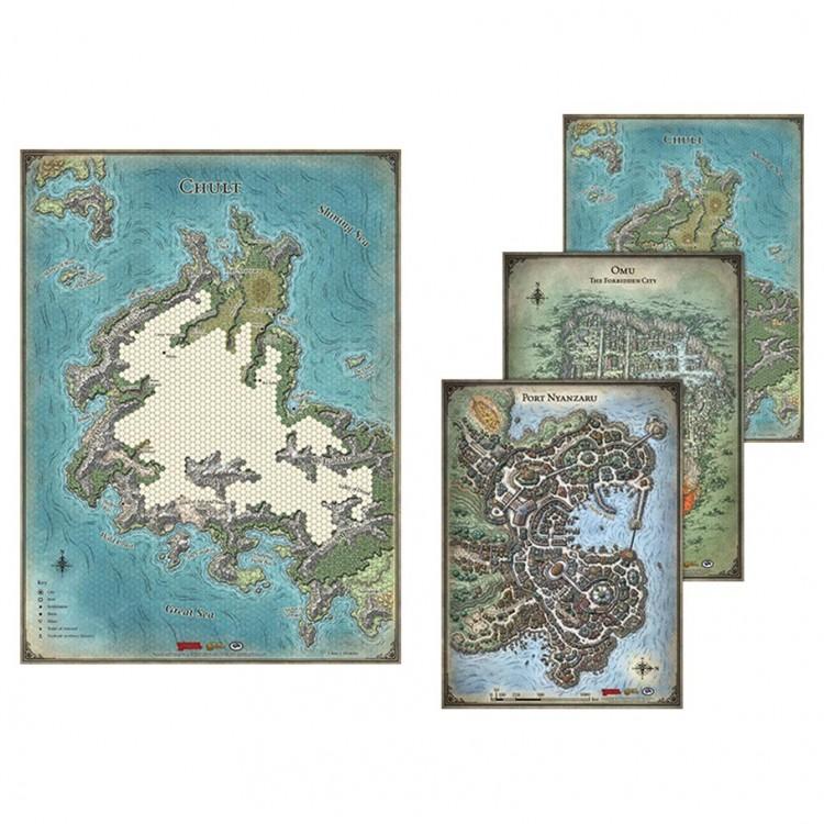 D&D: ToA: Map Set