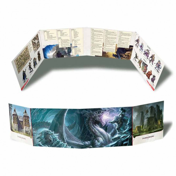D&D: Tyranny of the Dragons: DM Screen