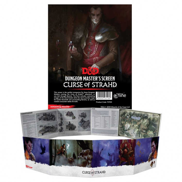 D&D: Curse of Strahd: DM Screen