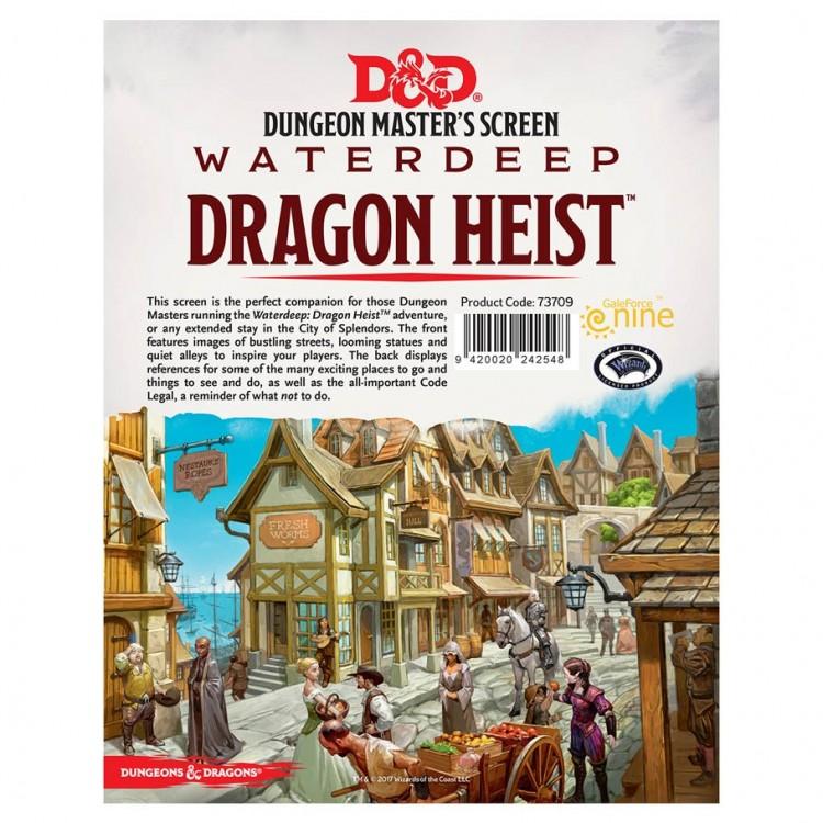 D&D: Dragon Heist: DM Screen