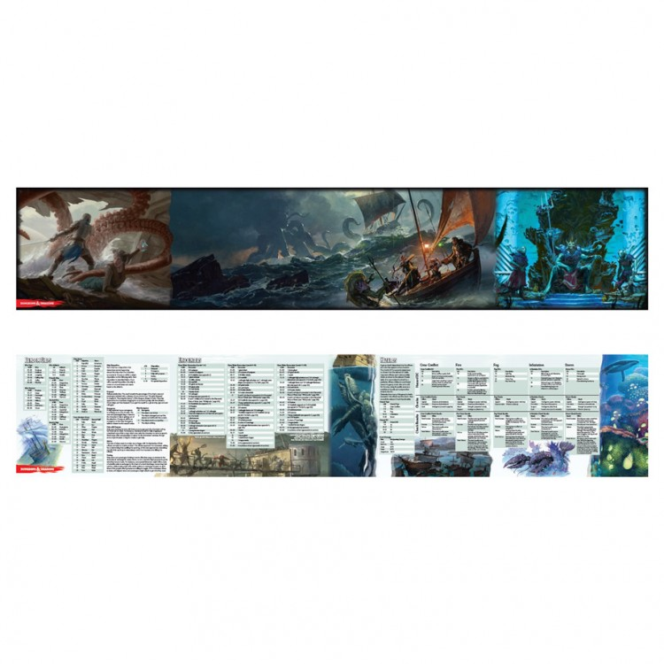 D&D: Of Ships & The Sea DM Screen