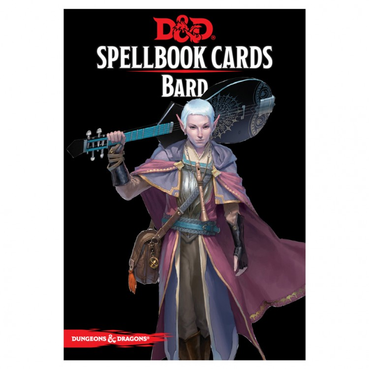 D&D Spellbook Cards: Bard Deck