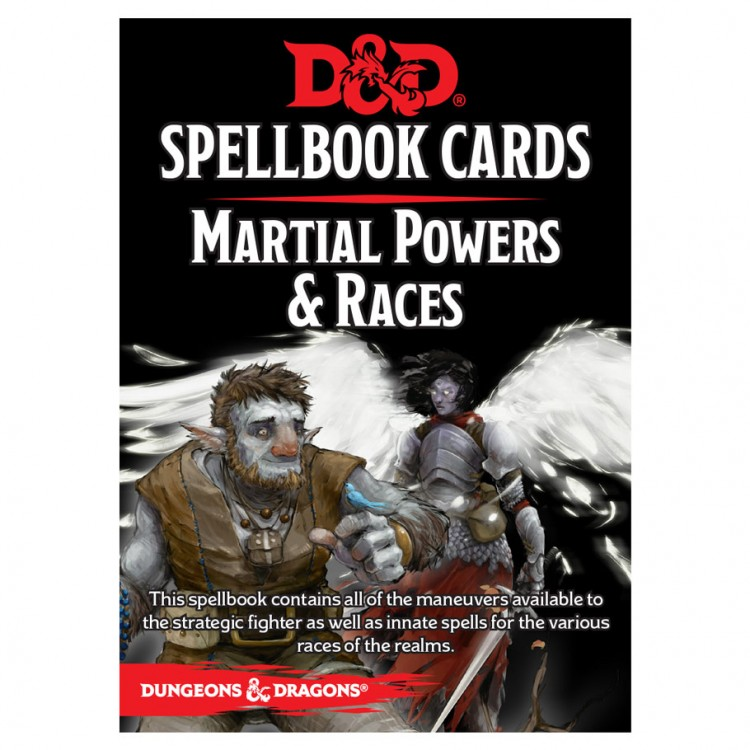 D&D Spellbook Cards: Martial & Race Deck