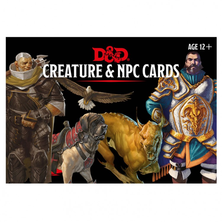D&D Cards: Creature & NPC