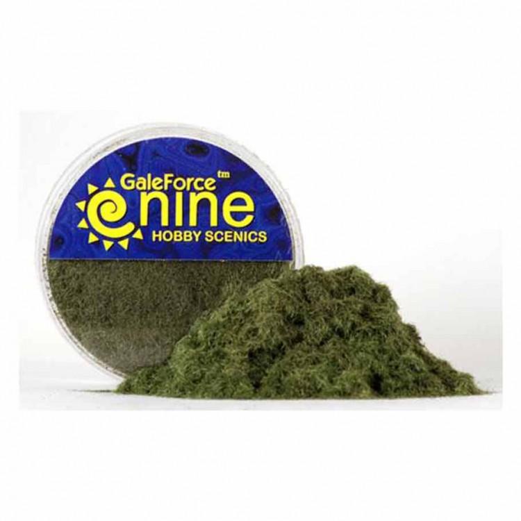 Dark Green Static Grass