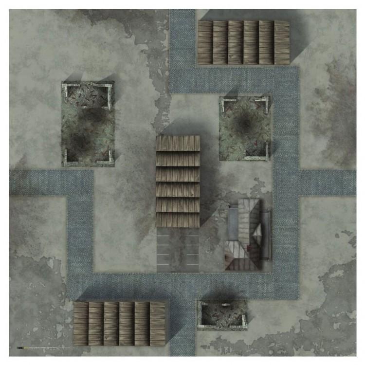 "TANKS: Minsk Game Mat 36"" x 36"""