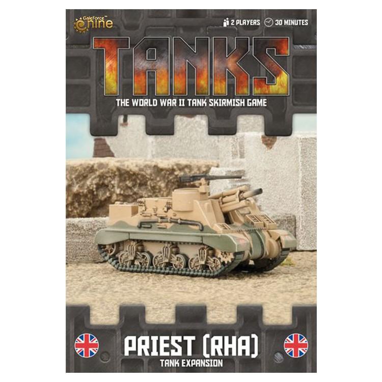 TANKS: British Priest (RHA)
