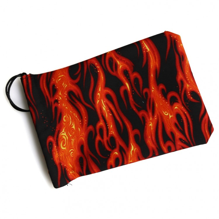 Dice Bag: Black Flame 2
