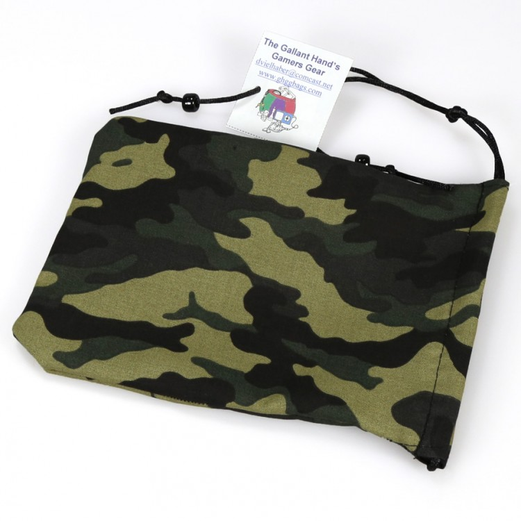 Dice Bag: Camo Cotton
