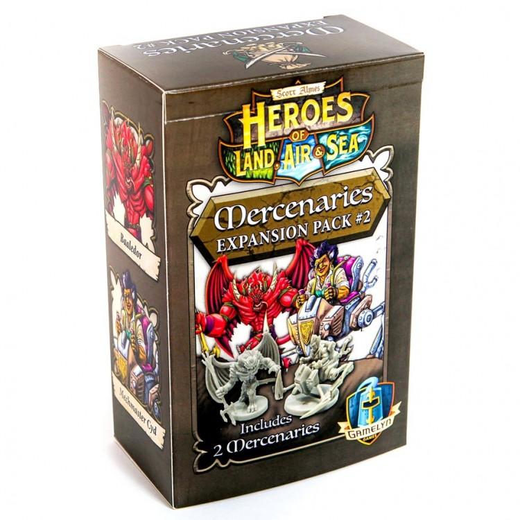 Heroes of LAS: Mercanary Pack 2