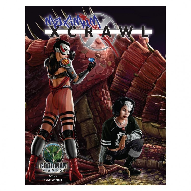 Maximum Xcrawl: GM Screen