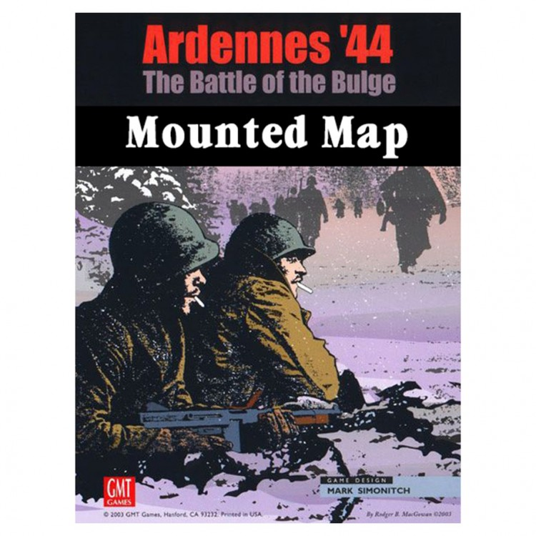 Ardennes '44 Mounted Mapboard