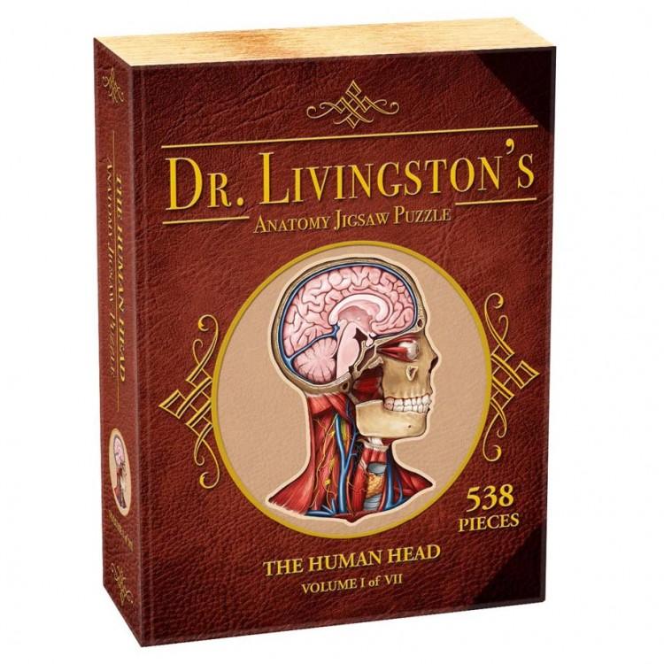 Puzzle: Dr Livingston: Human Head 538pc