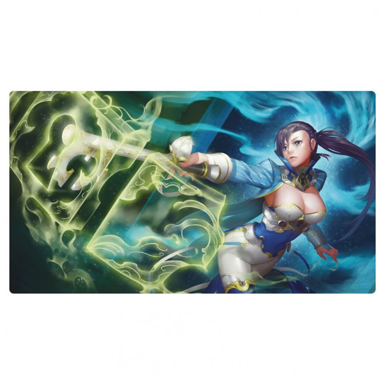 Play Mat: Astral Gatekeeper