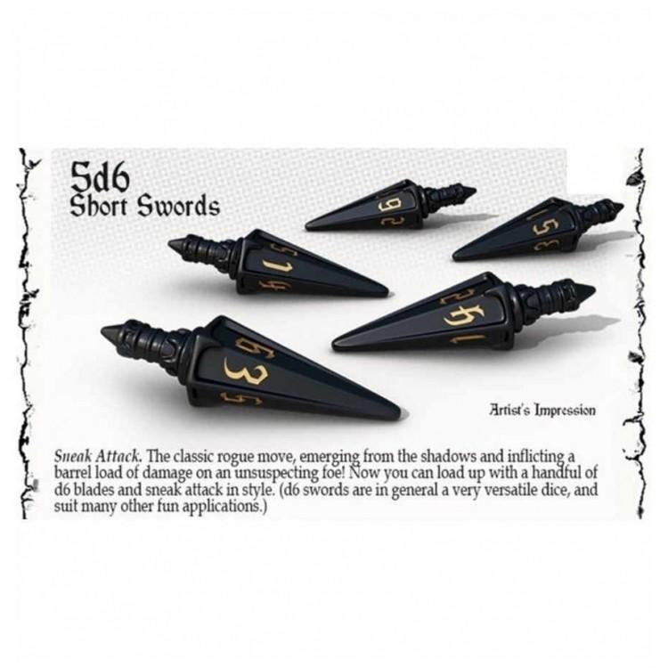 Dice: 5d6 Short Swords: Nightshade