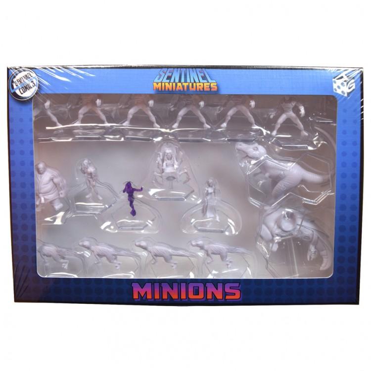 Sentinel Tactics:Unpainted Minions Minis