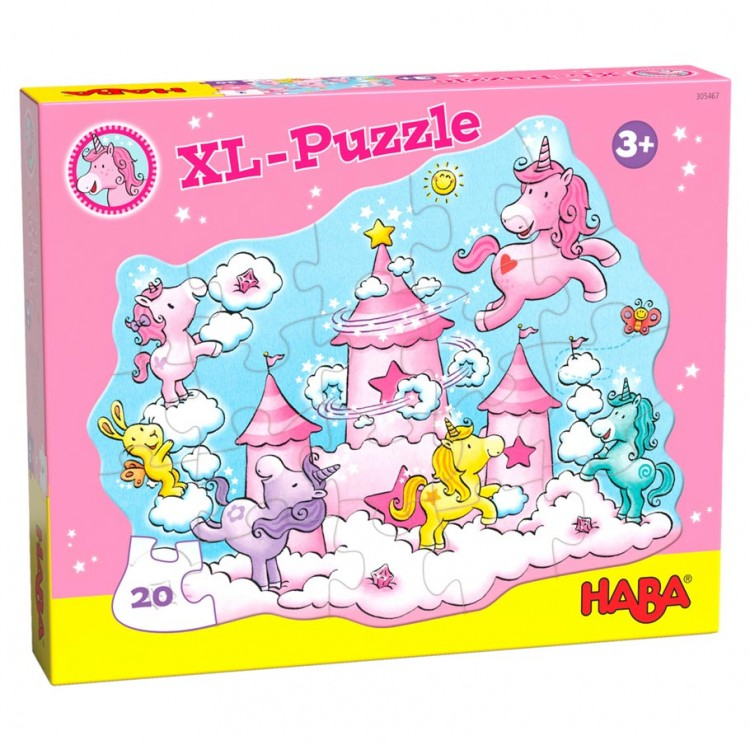 Puzzle: Unicorn Glitterluck Cloud 20pc