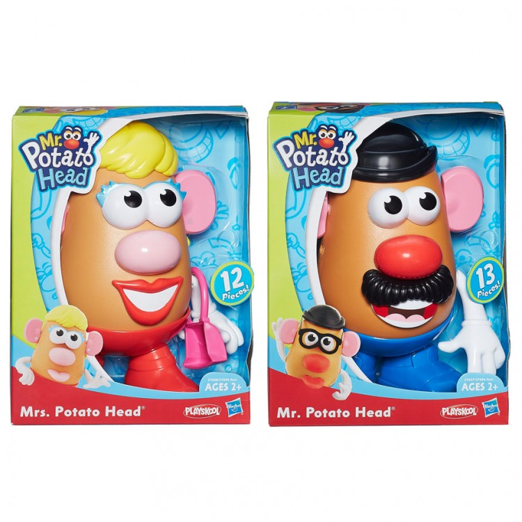 PLAY: MPH: Mr & Mrs Potato Head (4)