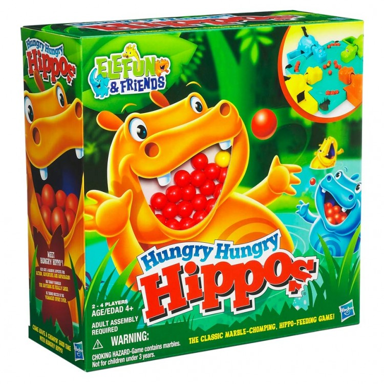 Hungry, Hungry Hippo (re-intro)