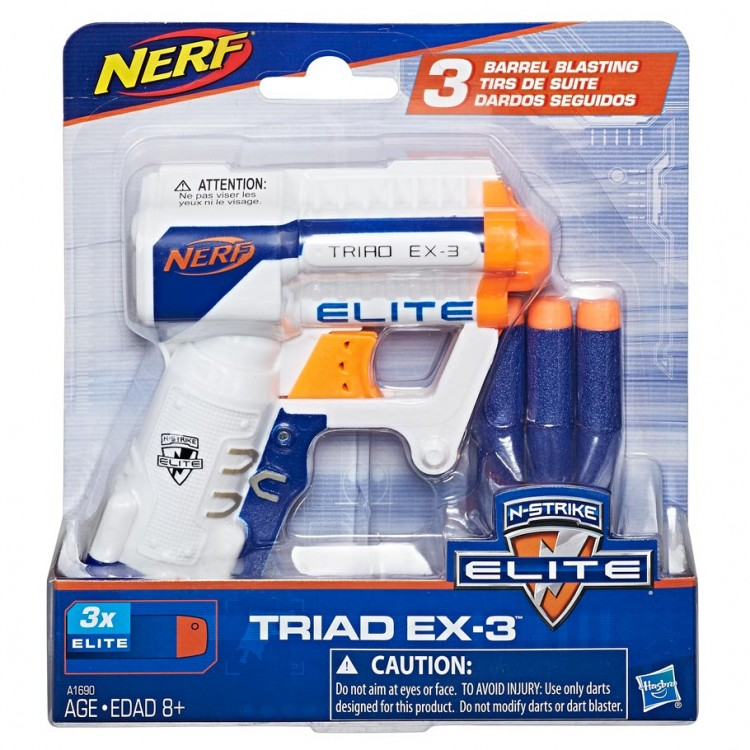 Nerf: N-Strike: Elite: Triad Ex3