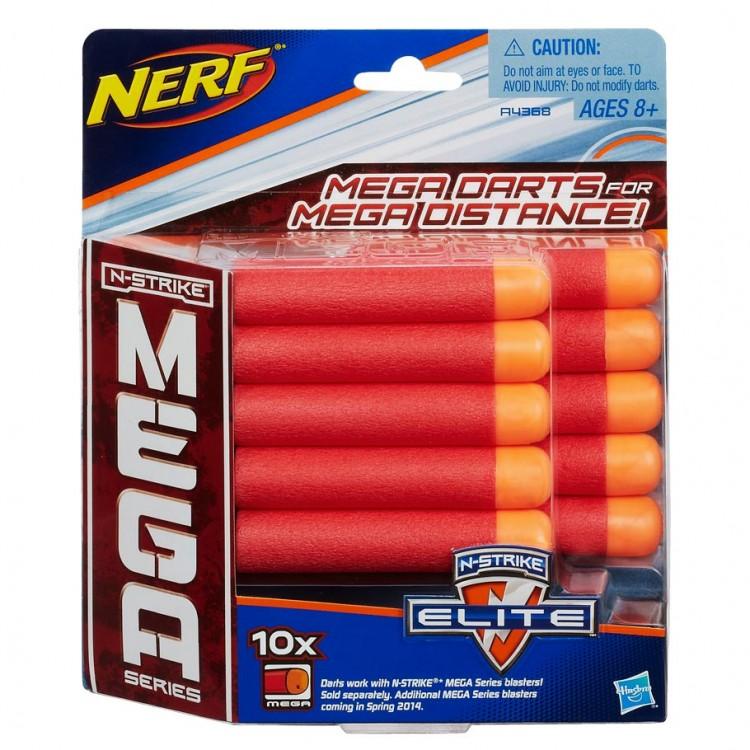Nerf: Mega: Refill 10ct Pk
