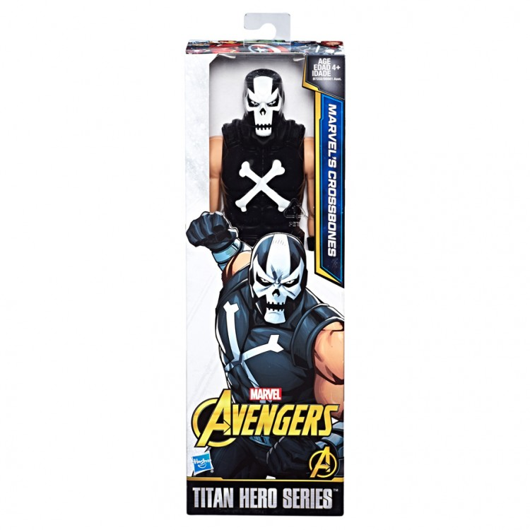"AVG: Crossbones 12"" Figure (8)"