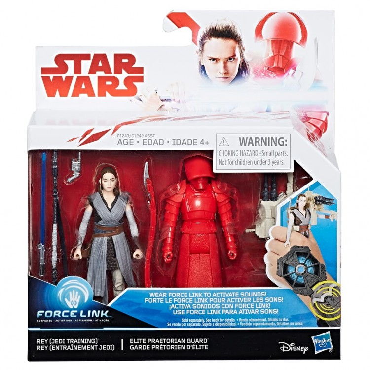 SW: E8: Rey Jedi & Praetorian Guard (8)