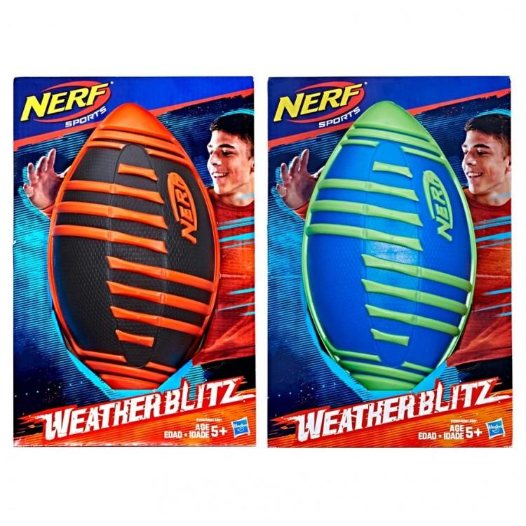 Nerf: Sports: Weather Blitz Footballs(4)