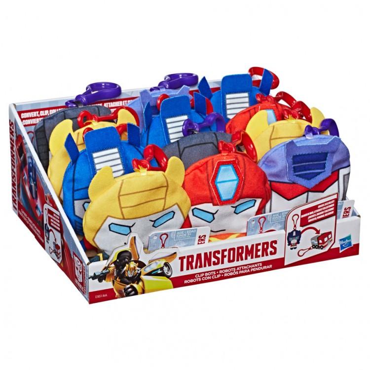 TRAN: Clip Bots Plush Ast (12)