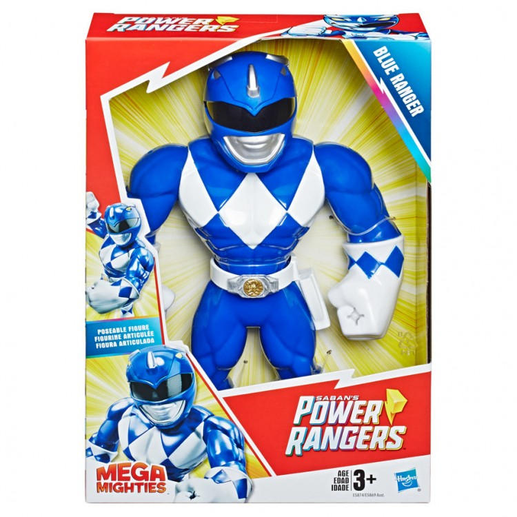 PRG:  Mega Mighties Blue Ranger (4)
