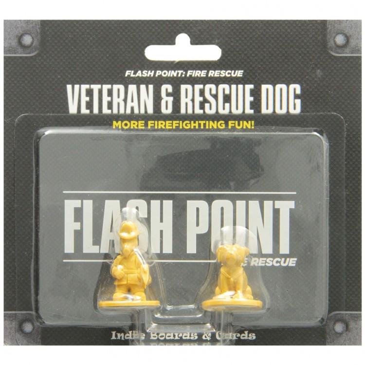 Flash Point Fire Rescue: Veteran&Dog Pk