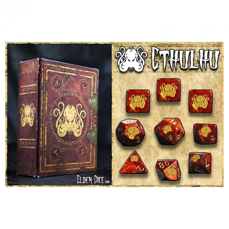 Elder Dice 9-Set: Cthulhu