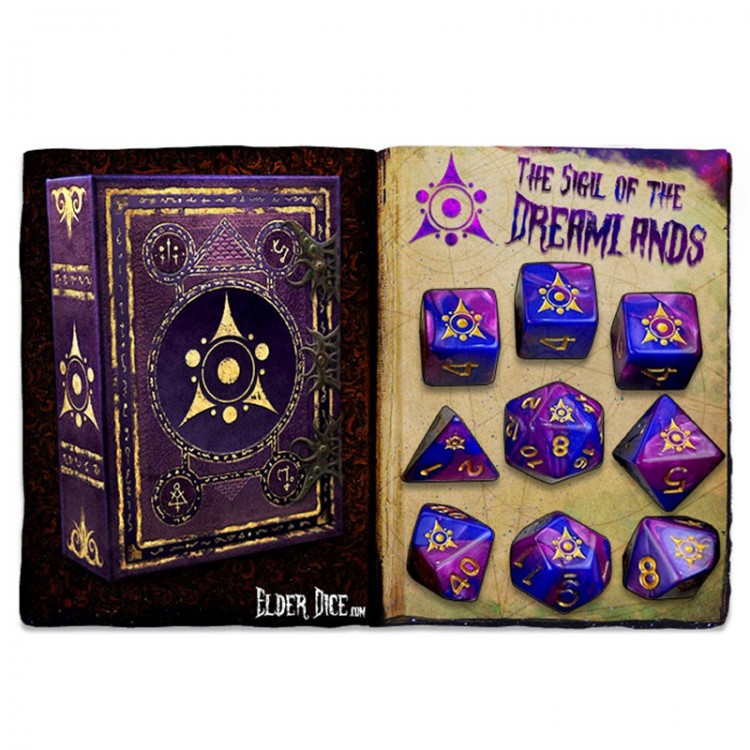 Elder Dice 9-Set: Sigil of Dreamlands
