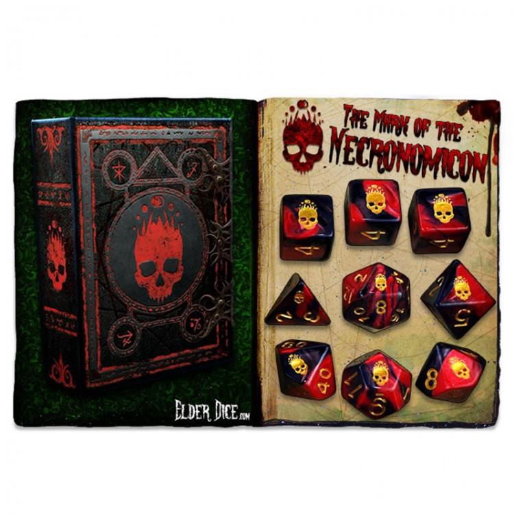 Elder Dice 9-Set: Mark of Necronomicon