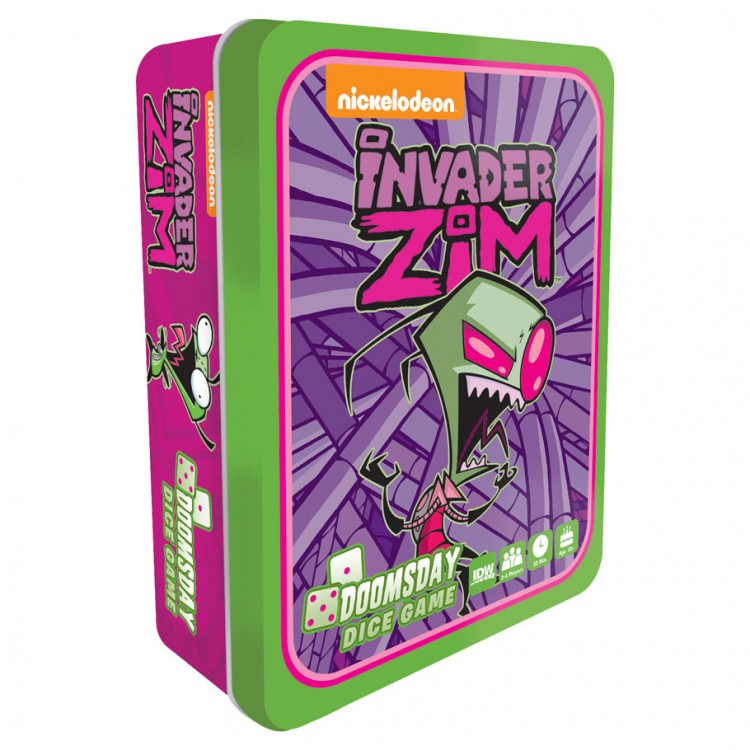 Invader Zim: Doomsday Dice Game
