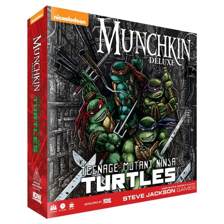 Munchkin: TMNT Deluxe