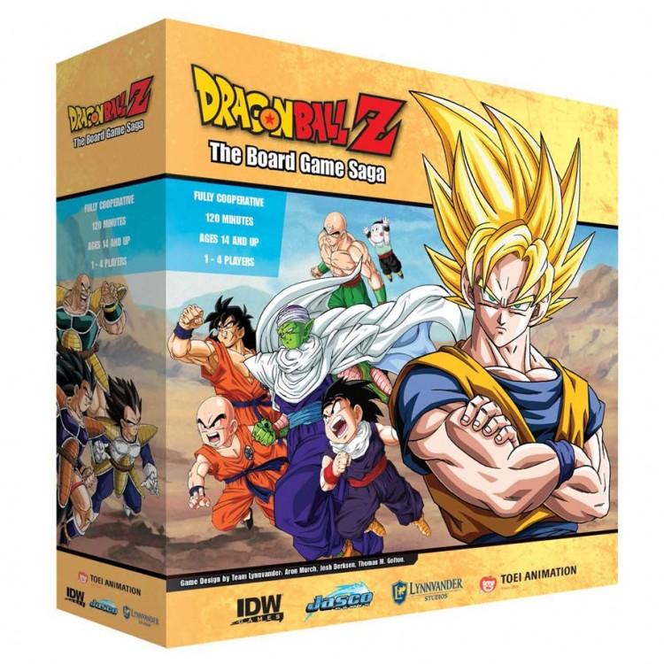 Dragon Ball Z: The Board Game Saga