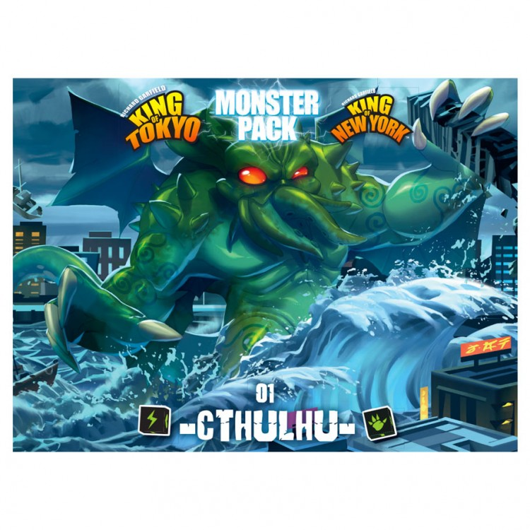 King of Tokyo 2E: Mon Pack 1: Cthulhu