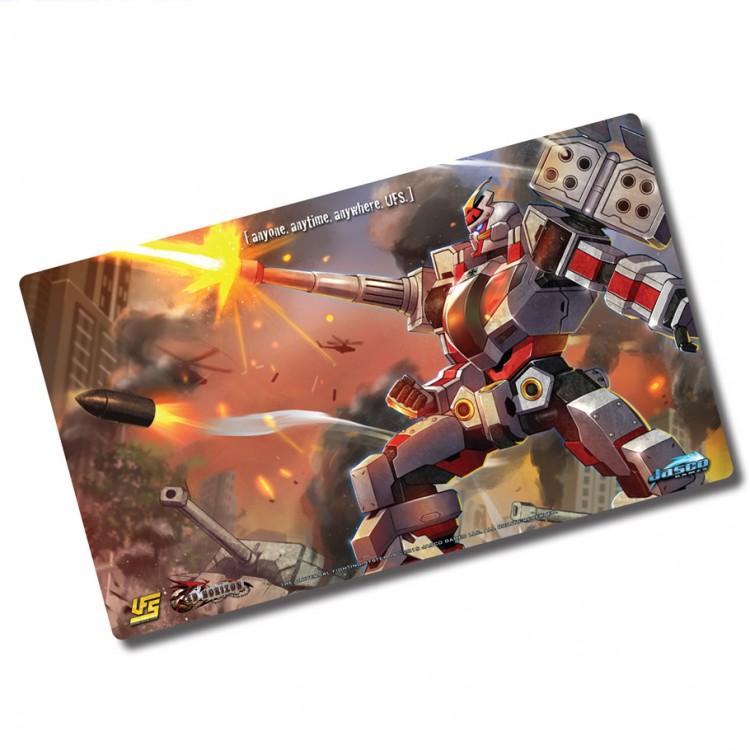Play Mat: Red Horizon Krieger