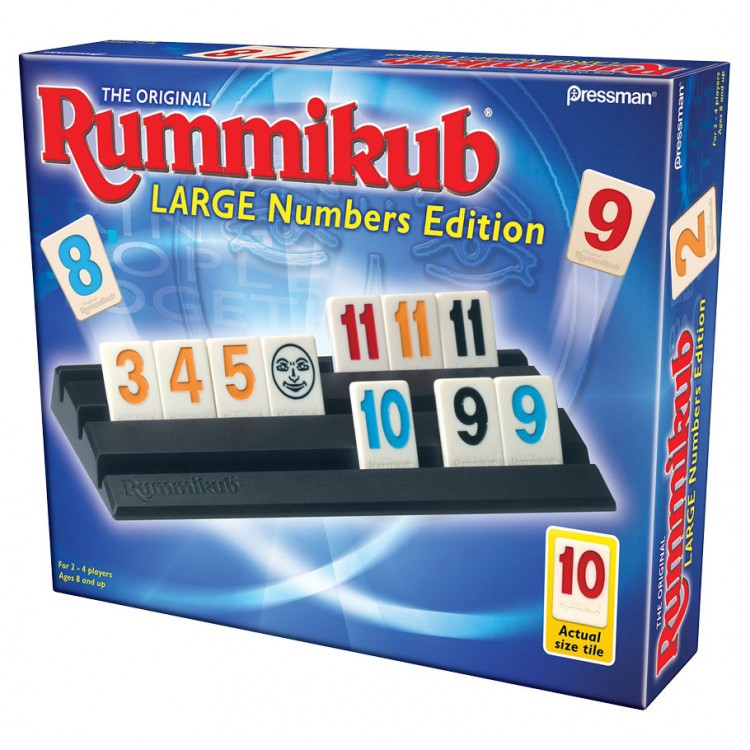Rummikub Large Number Edition